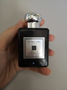 parfum vetiver and golden vanilla de jo malone