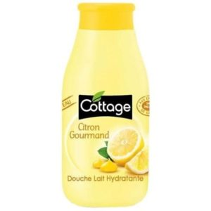 gel douche cottage citron gourmand