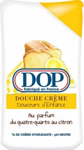 gel douche dop quatre quart au citron