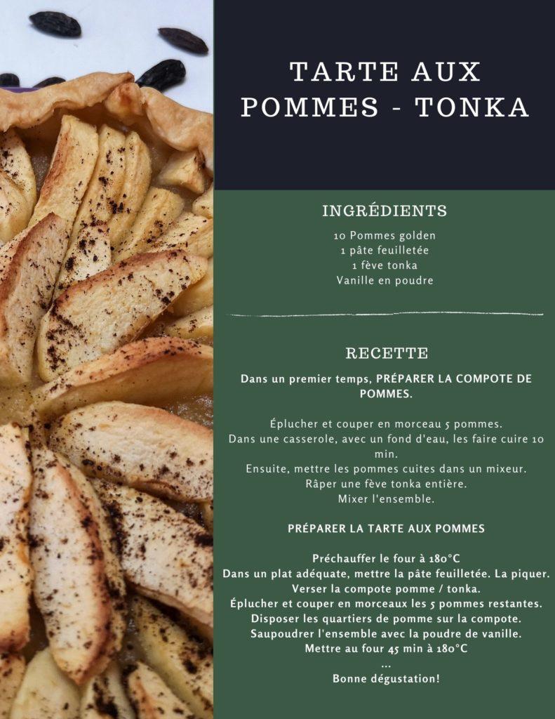 recette tarte pomme - tonka